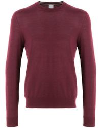 Paul Smith - Purple Crew Neck Sweater for Men - Lyst