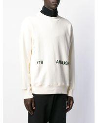 メンズ Ambush ロゴ スウェットシャツ White