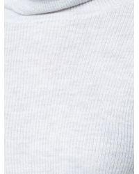 Ulla Johnson Gray Mars Turtleneck Sweater