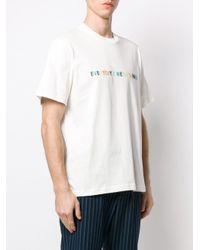 メンズ Sunnei オーバーサイズ Tシャツ White