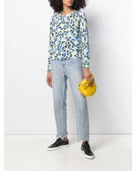 Camisa con motivo floral ESCADA de color Blue