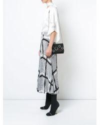 Fendi - Black Kan I F Shoulder Bag - Lyst