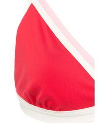 Top bikini Jourdan di Morgan Lane in Red
