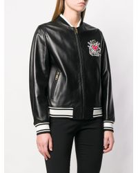 Куртка-бомбер С Вышивкой Dolce & Gabbana, цвет: Black