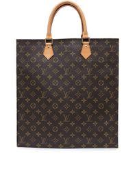 Сумка Sac Plat 2005-го Года Louis Vuitton, цвет: Brown