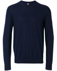 PS by Paul Smith - Blue Crew-neck Jumper for Men - Lyst
