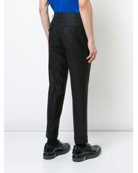 メンズ Comme des Garçons テーラード パンツ Black