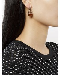 A.P.C. - Metallic Capella Earrings - Lyst