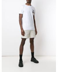 T-shirt Organic Rouch Small Board Osklen pour homme en coloris White