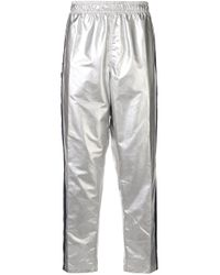 Polo Ralph Lauren Metallic P-wing Logo Stripe Track Pants for men