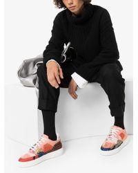 メンズ By Walid パッチワーク スニーカー Multicolor