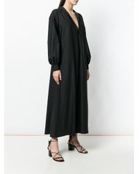Giambattista Valli Black Long Oversized Dress