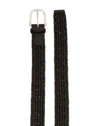 Cinturón Melange Orciani de hombre de color Brown