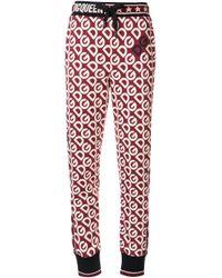 Dolce & Gabbana ロゴ トラックパンツ Red