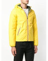 K-Way Yellow Reversible Down Jacket for men