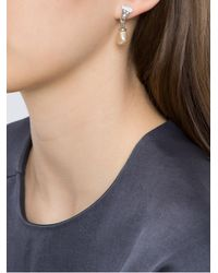 Camila Klein - Multicolor Pearl Embellished Earrings - Lyst
