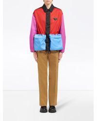 メンズ Prada ナイロン ジャケット Multicolor