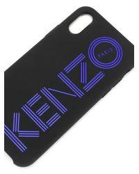 Cover per iPhone X-XS di KENZO in Multicolor da Uomo