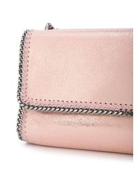 Stella McCartney Pink Foldover Falabella Bag