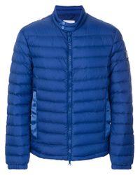 Peuterey - Blue Padded Jacket for Men - Lyst