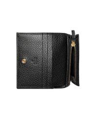 Кожаный Кошелек Для Карт Gucci, цвет: Black