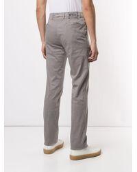 Pantalones chinos holgados Kiton de hombre de color Gray
