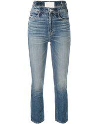 Jeans Dazzler affusolati di Mother in Blue