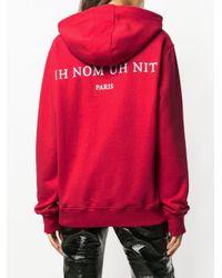 Sweat à imprimé photographie Ih Nom Uh Nit en coloris Red