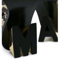 Marques'Almeida スネークパターン アンクルブーツ Multicolor