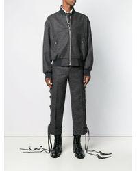 メンズ Thom Browne オーバーサイズ ジャケット Gray