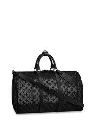 Louis Vuitton 2007 モノグラム ボストンバッグ Black