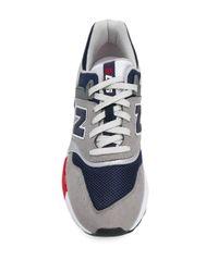New Balance Sneakers in Colour-Block-Optik in Gray für Herren