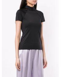 Nanushka Una Tシャツ Black