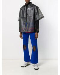 メンズ Xander Zhou オーバーサイズ シャツ Black