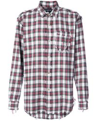 Mastermind Japan | White Checked Shirt for Men | Lyst