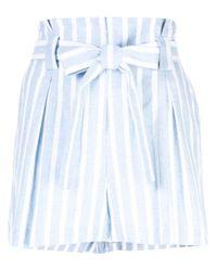 L'Agence ストライプ ショートパンツ Multicolor