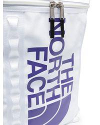 メンズ The North Face ロゴ バックパック White