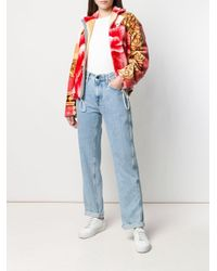 MARINE SERRE プリント ボンバージャケット Multicolor