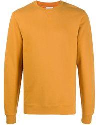 Sweat à col rond Sunspel pour homme en coloris Yellow