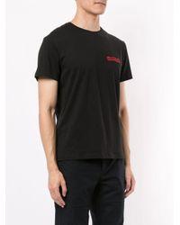 メンズ Kent & Curwen ショートスリーブ Tシャツ Black