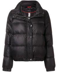 DKNY Black Slim-fit Bomber Jacket for men