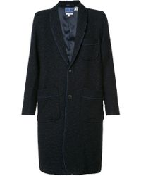 Blue Blue Japan Blue Patch Pocket Coat for men