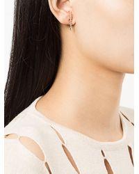 Anita Ko Metallic Medium Cascade Earring