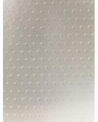 メンズ Dell'Oglio パターン ネクタイ White