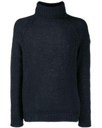 Rrd Pullover mit Zopfmuster in Blue für Herren