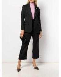 Blazer à poches plaquées Lardini en coloris Black