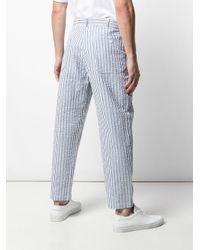 メンズ Engineered Garments ルーズフィット パンツ Blue