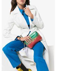 Gucci ラミネートレザー ショルダーバッグ Multicolor