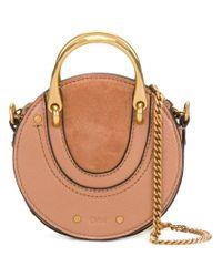 Chloé Brown Pixi Mini Bag