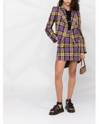 Vivienne Westwood チェック ジャケット Multicolor